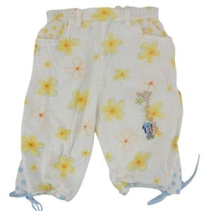 Disney Baby Minnie Mouse Yellow Flower Pants 18 mo